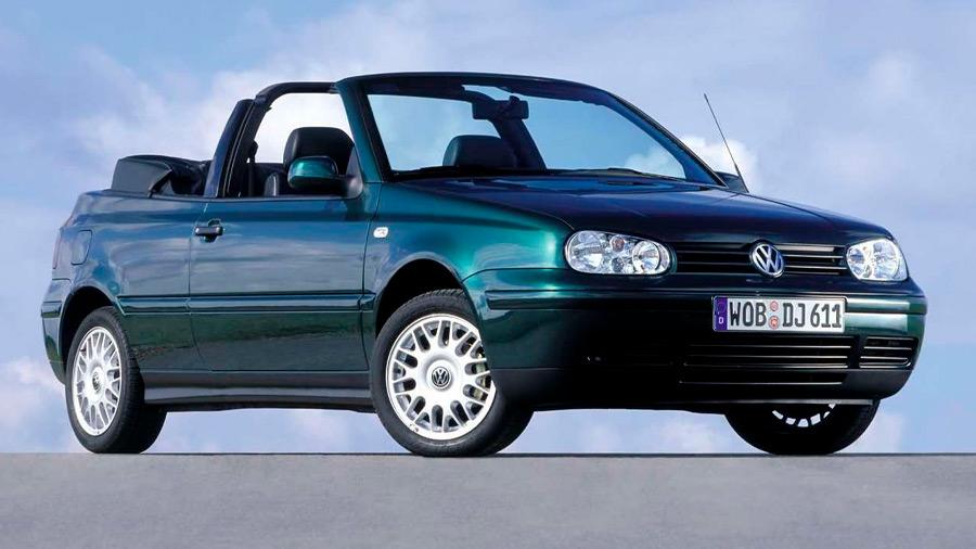 El Volkswagen Cabrio en venta es uno de los convertibles más atractivos de la década de los 90