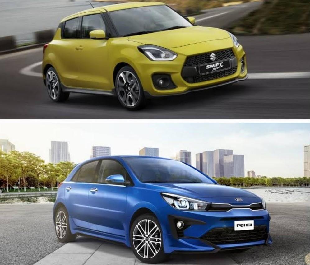 Comparación entre Suzuki Swift Sport y Kia Rio