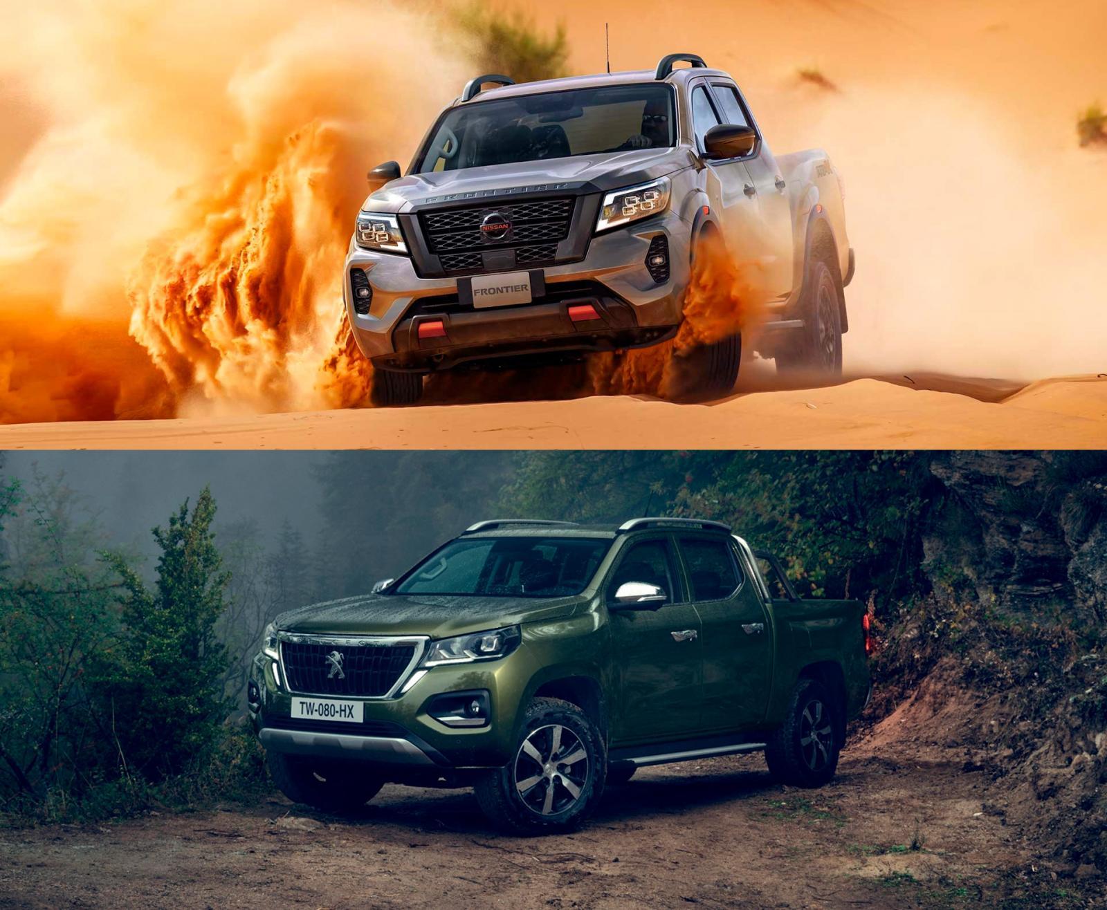 La Nissan NP300 Frontier precio también rivaliza con la Peugeot Landtrek