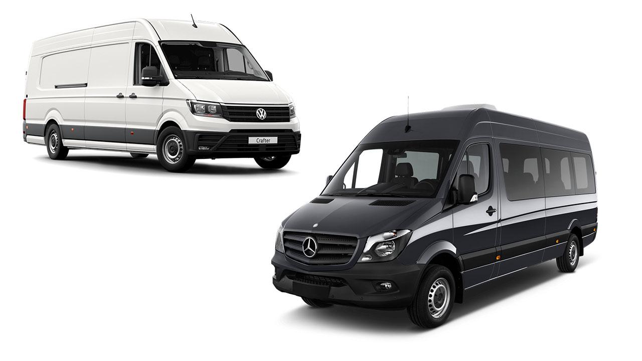 Volkswagen Crafter vs Mercedes-Benz Sprinter