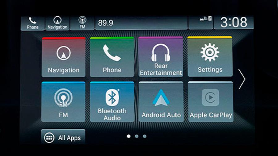 La Honda Odyssey Touring 2022 tiene suficientes características tecnológicas para entretener a los pasajeros