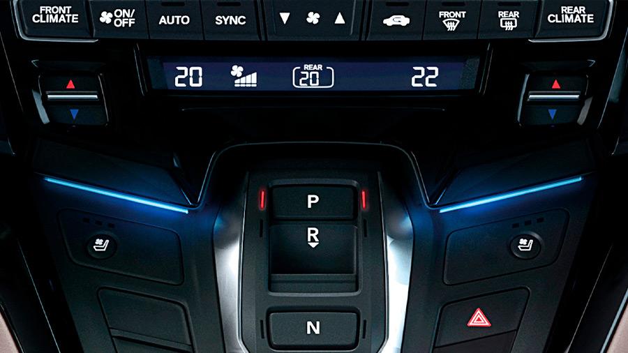La Honda Odyssey Touring 2022 tiene muchas características al interior