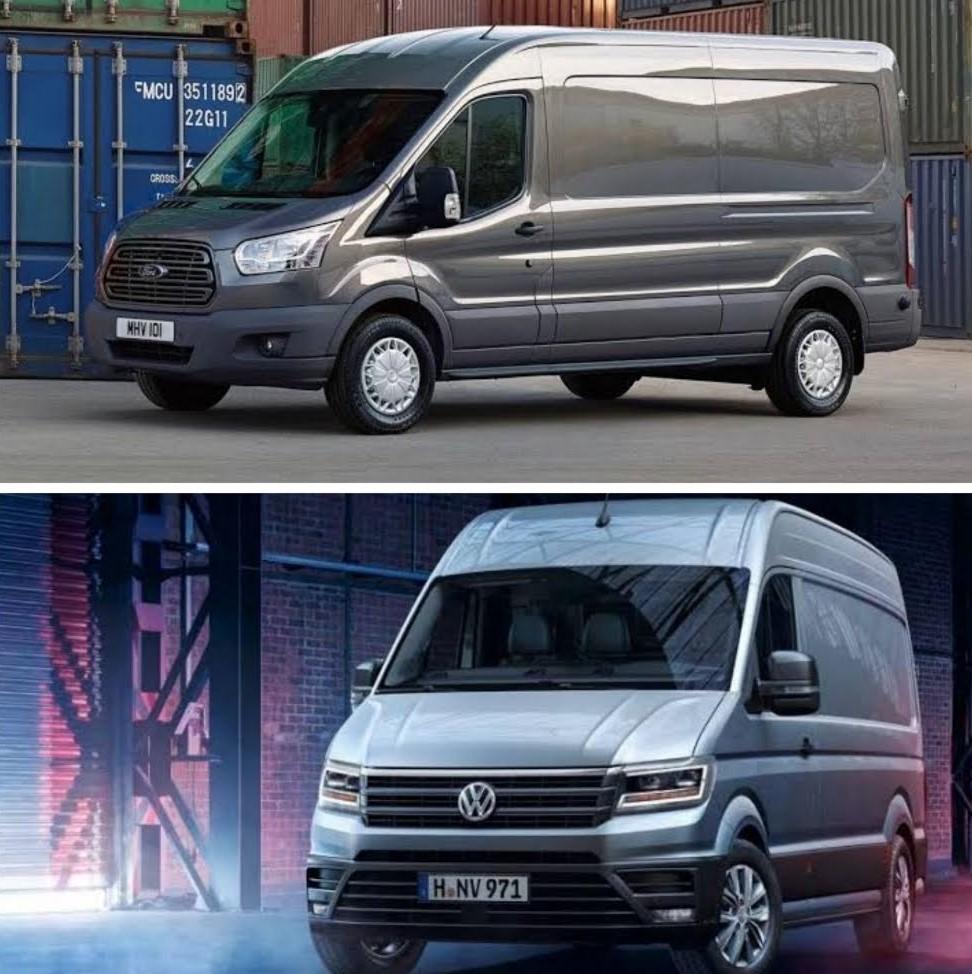 Comparación entre Ford Transit y Volkswagen Crafter