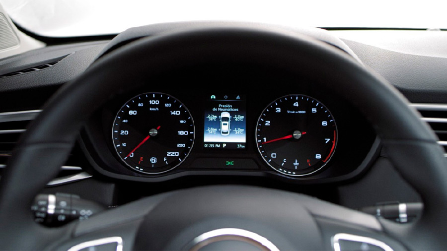 El motor de MG 5 precio es un 4 cilindros de 1.5 litros