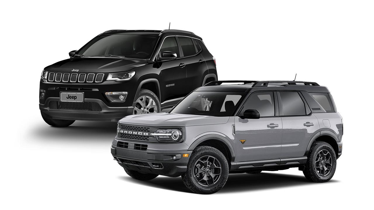 Ford Bronco Sport vs Jeep Compass