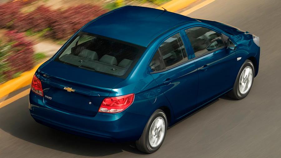 El Chevrolet Aveo LT 2022 destaca por su diseño modesto y sencillo