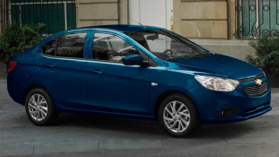 El Chevrolet Aveo LT 2022 es la versión con mejor nivel de equipamiento de la gama