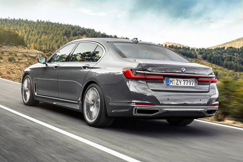 BMW Serie 7 manejo