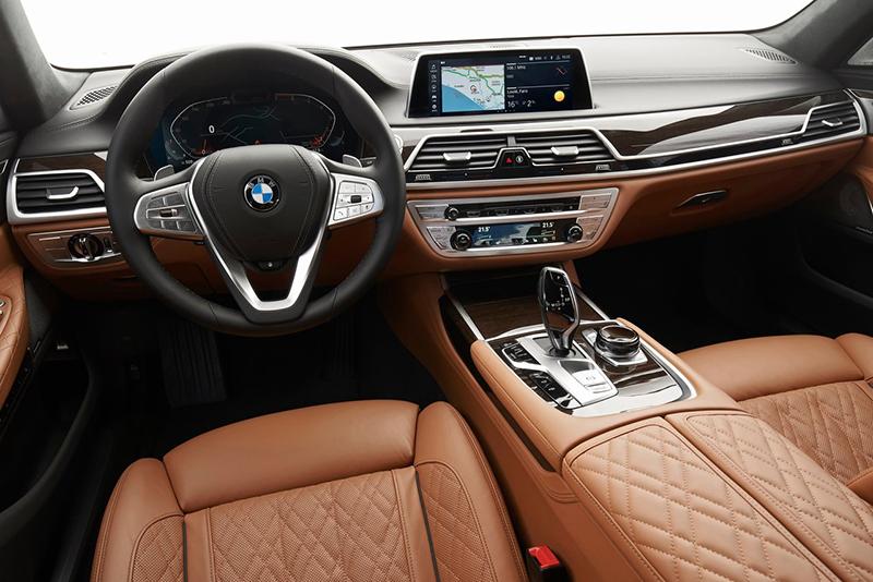 BMW Serie 7 2022 interior