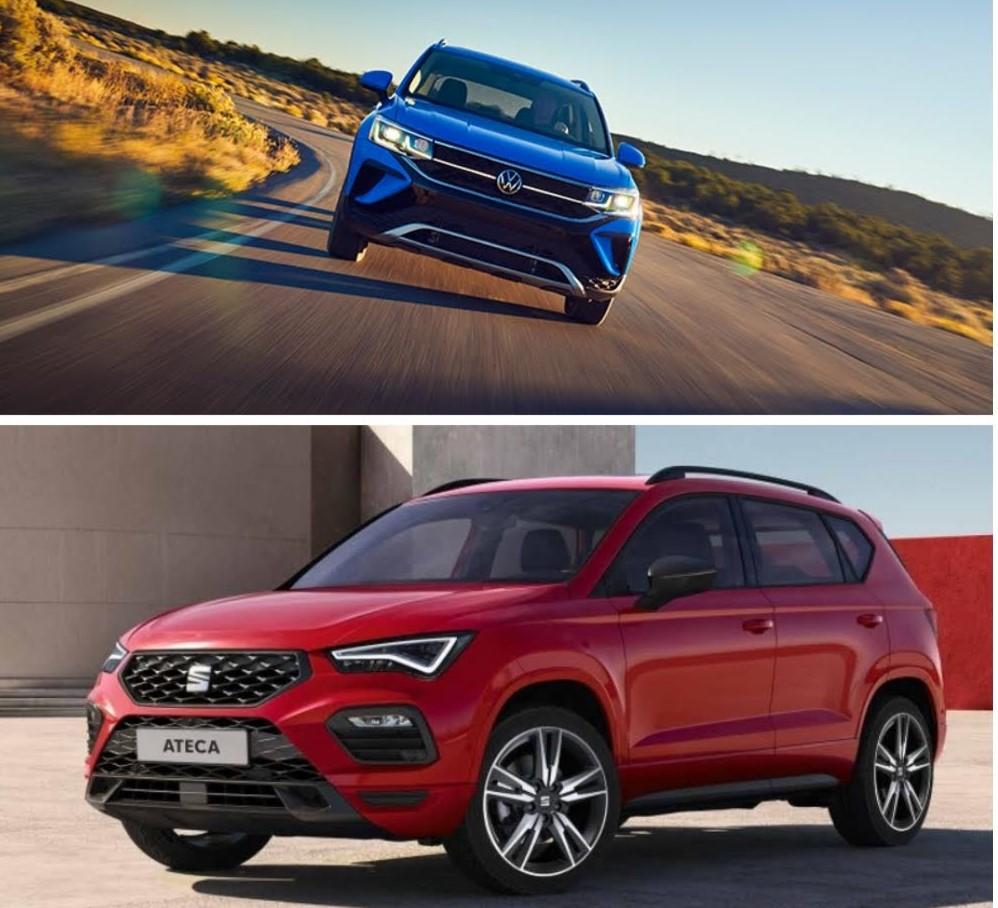 Comparación entre Volkswagen Taos y SEAT Ateca
