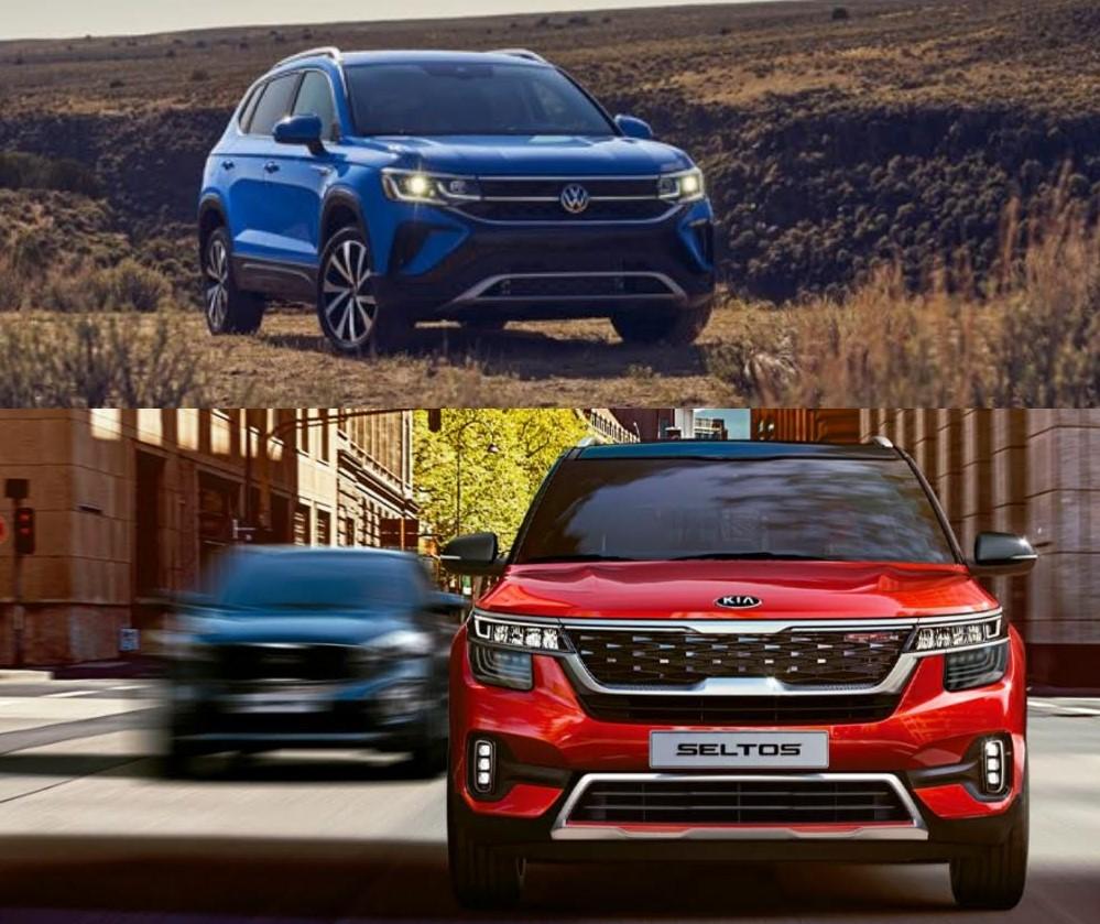 Comparación entre Volkswagen Taos y Kia Seltos