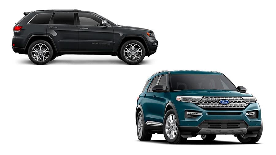 La Jeep Grand Cherokee precio se queda por detrás de la Ford Explorer en cuanto a modernidad y equipamiento tecnológico
