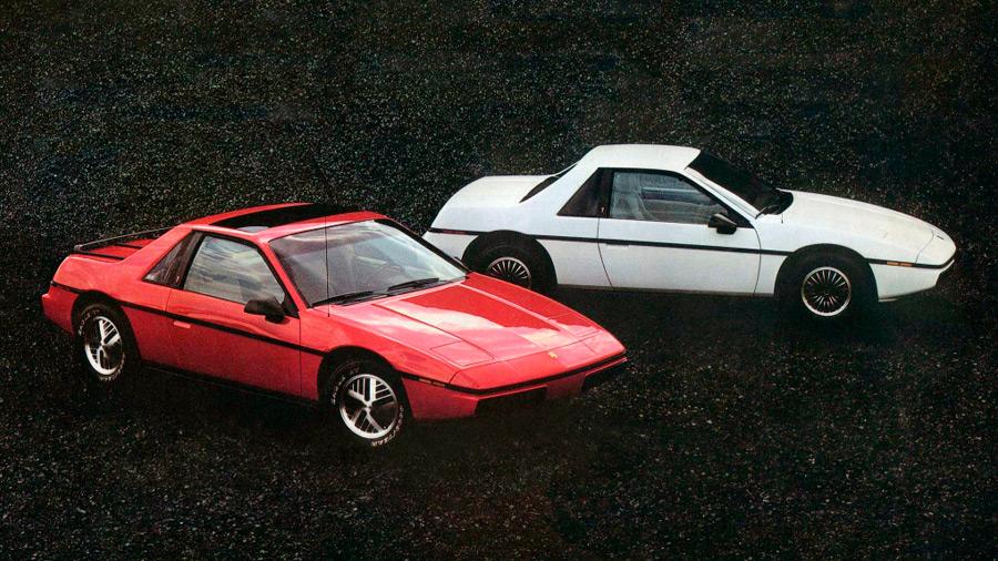 El Pontiac Fiero en venta generó altas expectativas en la década de los 80