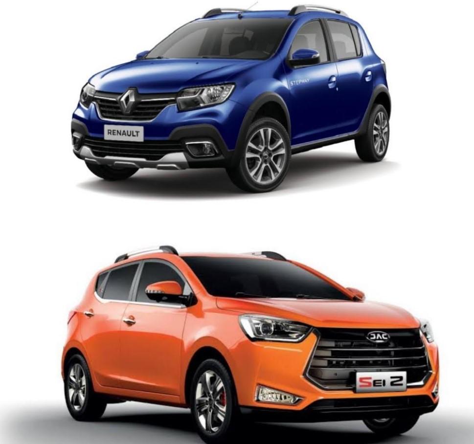 Comparación entre Renault Stepway y JAC Sei 2