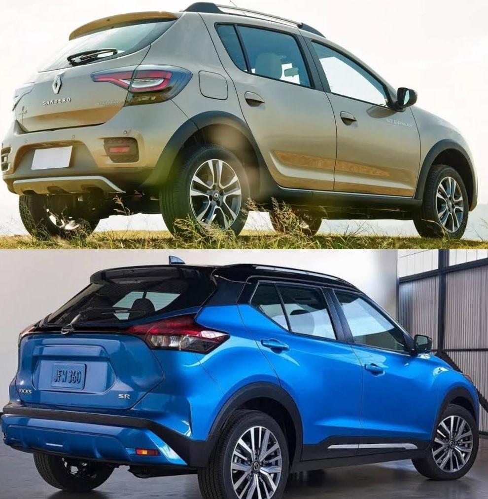Comparación entre Renault Stepway y Nissan Kicks