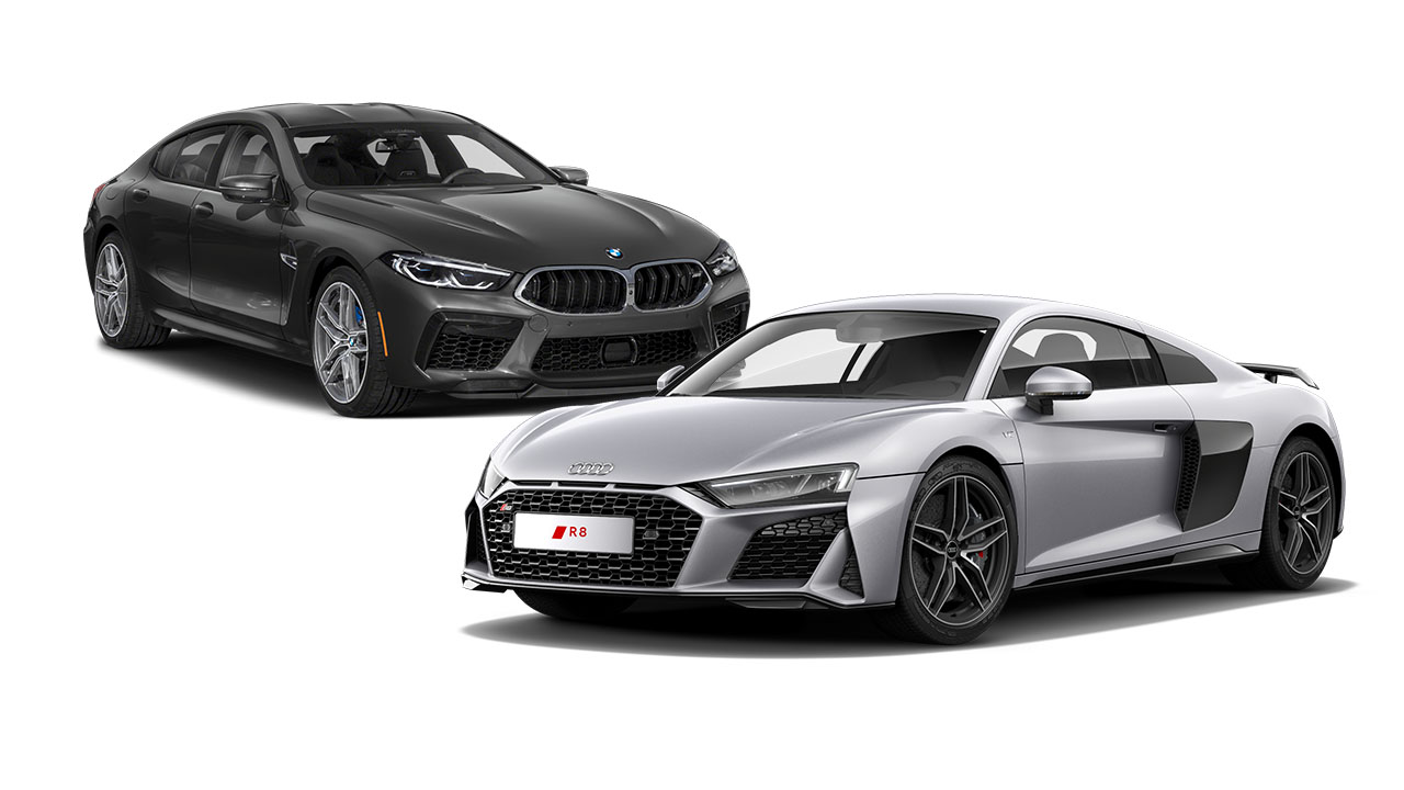 BMW M8 vs Audi R8