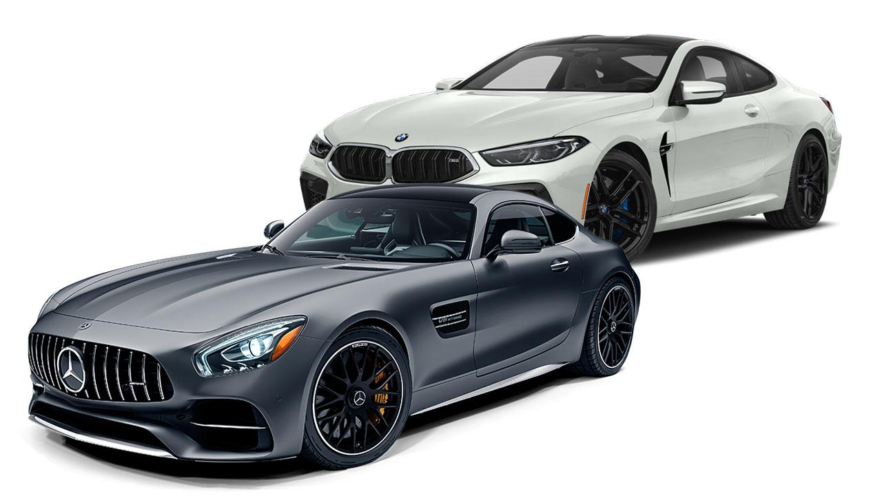 BMW M8 vs Mercedes-AMG GT