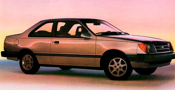 El Ford Topaz en venta era un coche familiar rendidor, práctico y accesible