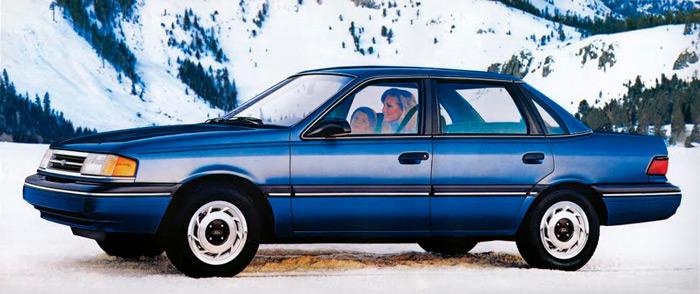 El diseño del Ford Topaz en venta generó controversia