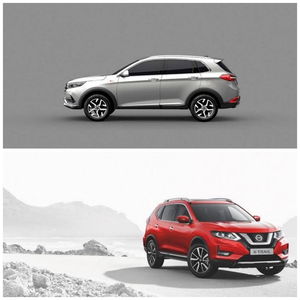 Comparación entre BAIC X65 y Nissan X-Trail