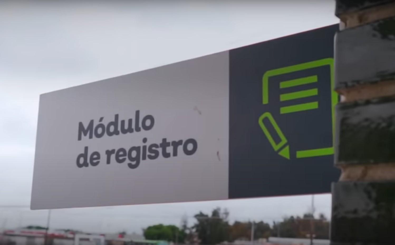 Módulo de registro verificentro Jalisco