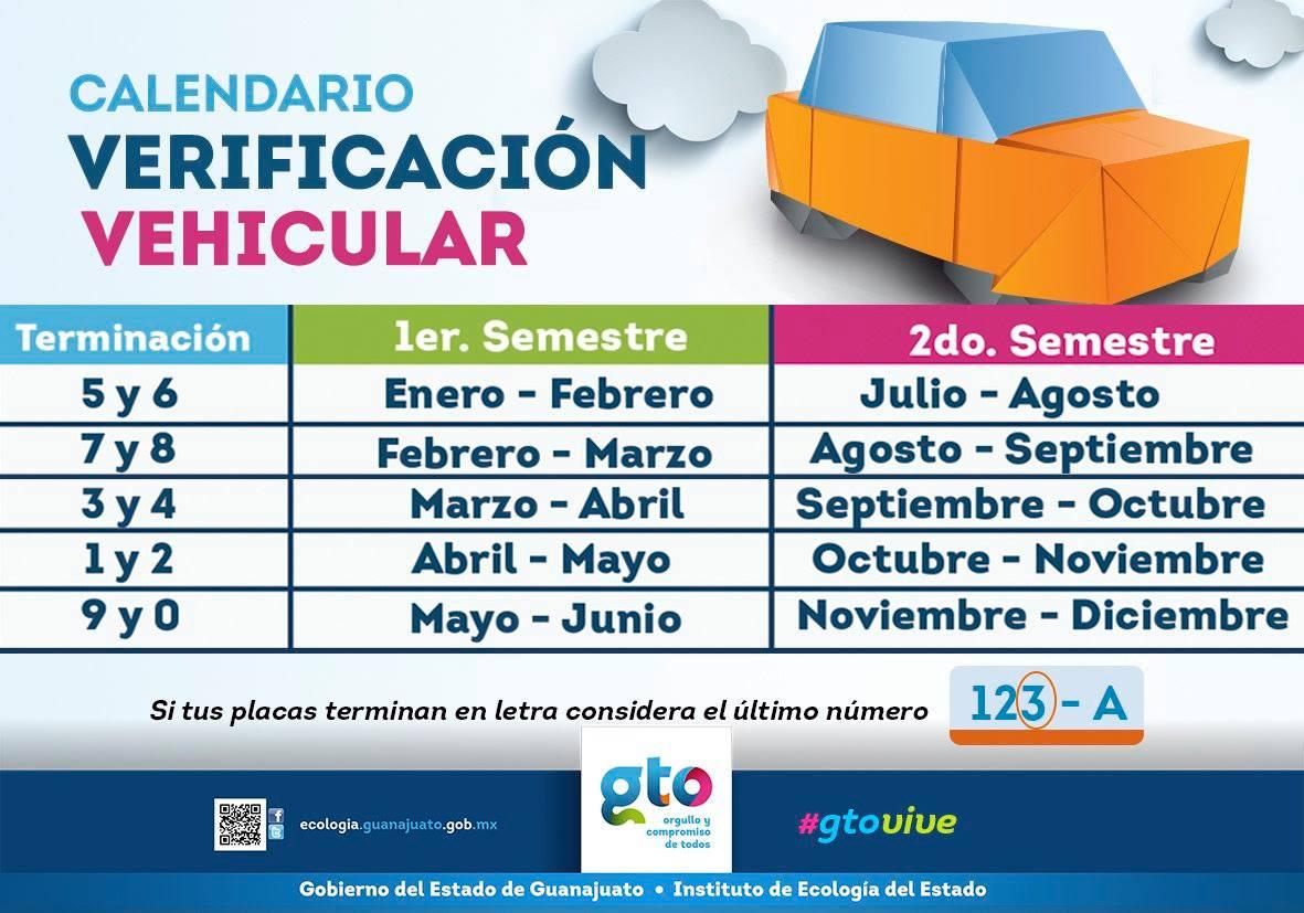 Verificación vehicular en Guanajuato