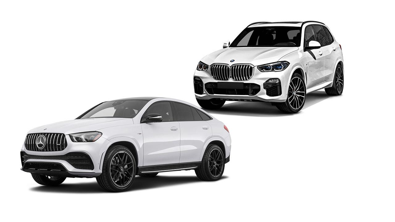 BMW X5 Mercedes-Benz Clase GLE