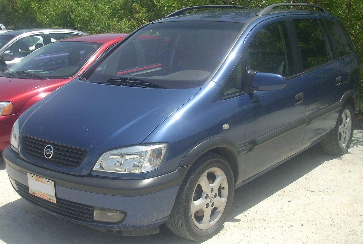 Chevrolet Zafira en venta