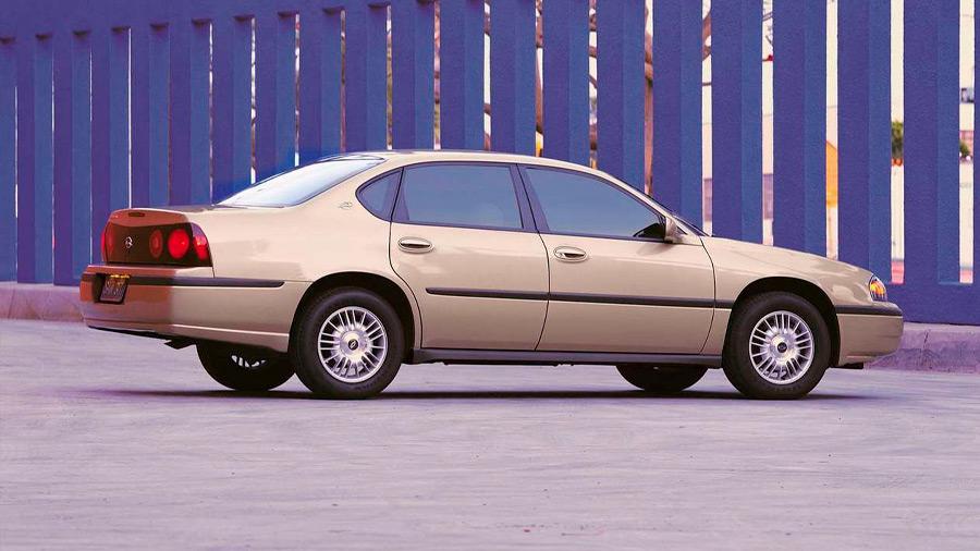 El Chevrolet Impala en venta era sinónimo de gran confort para los viajes familiares
