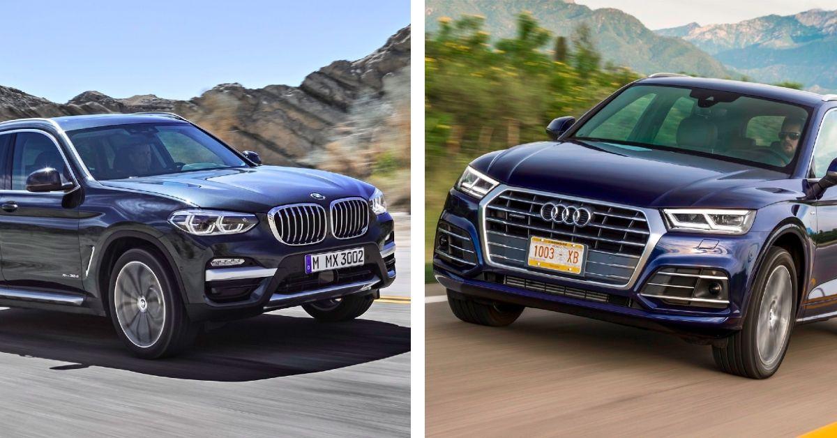 Comparación entre BMW X3 y Audi Q5