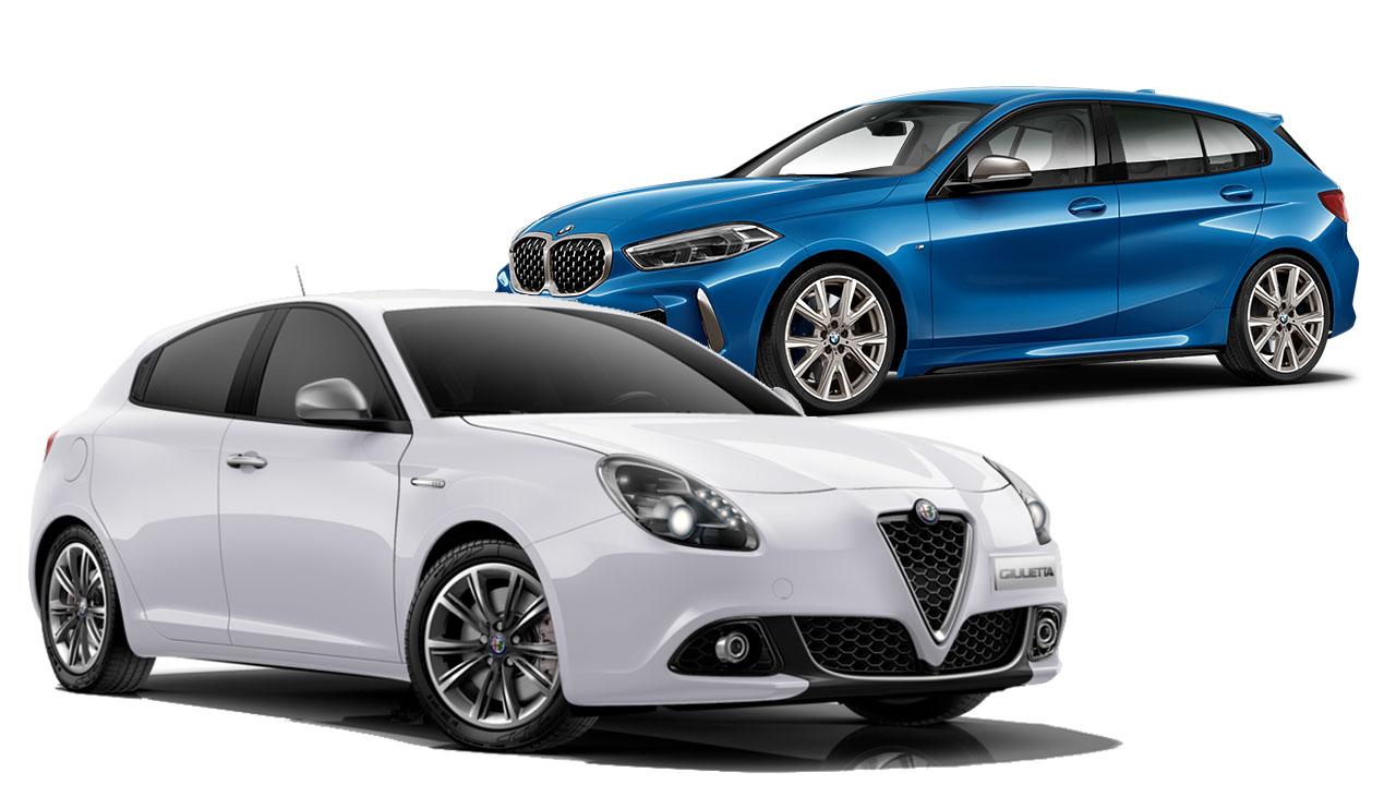 Alfa Romeo Giulietta vs BMW Serie 1