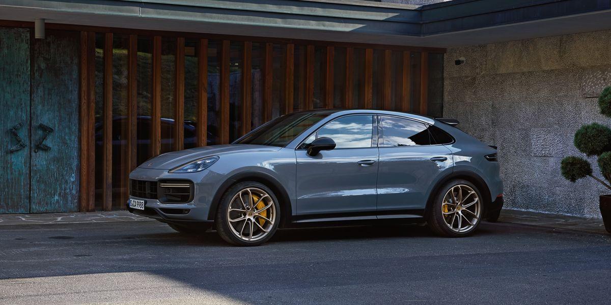 La Porsche Cayenne tiene un diseño agresivo, musculoso y aerodinámico