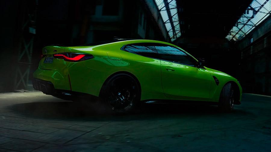 El BMW M4 en venta es un auto que establece el desempeño como máxima prioridad