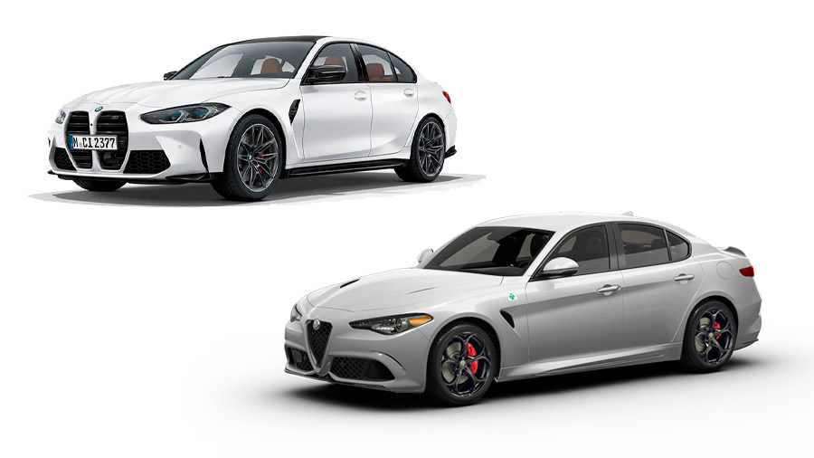 El BMW M3 en venta supera en varios rubros al Alfa Romeo Giulia