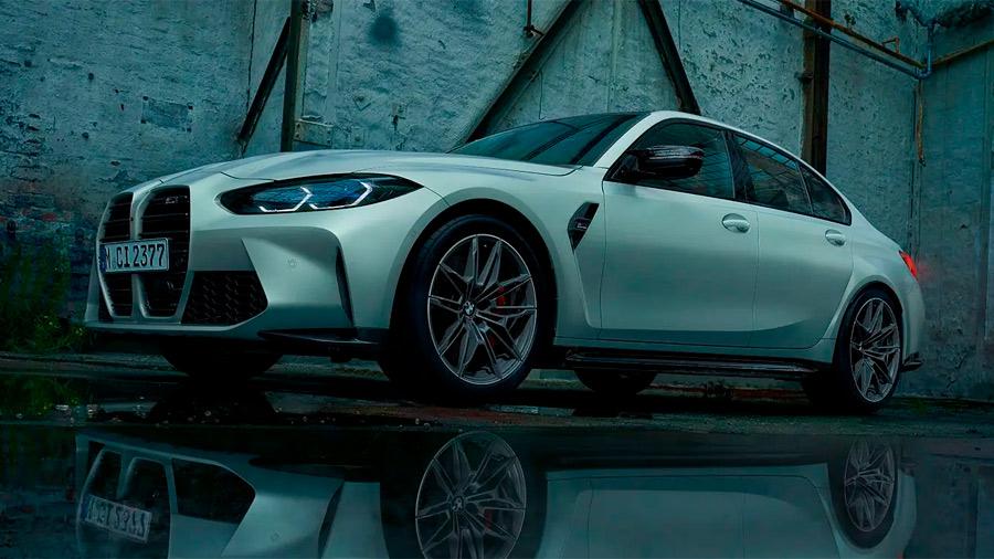 El BMW M3 en venta incorpora una parrilla polémica por sus diseño radical