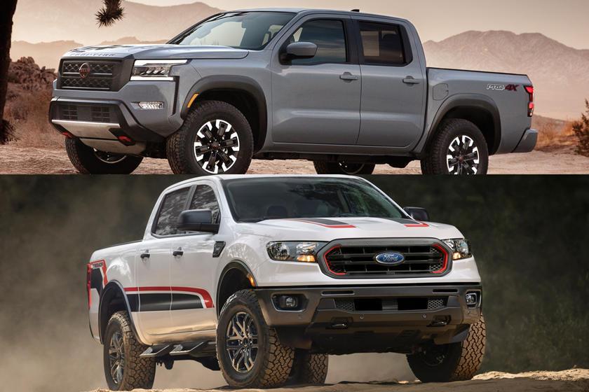 Comparación entre Nissan Frontier Pro-4X y Ford Ranger Raptor