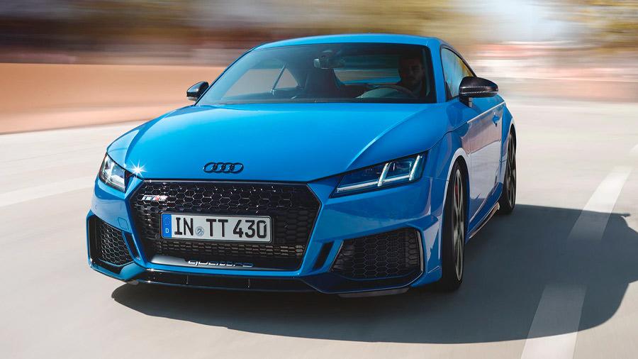 El Audi TT RS en venta destaca por su diseño elegante y deportivo