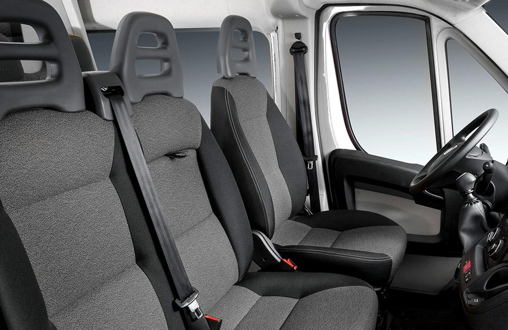 FIAT Ducato Cargo Van interior