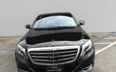 Carro Mercedes-Benz Clase S 2016 de único propietario en buen estado-2
