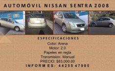 Precio de Nissan Sentra 2008-4