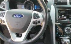 Hermosa FORD EXPLORER LIMITED V6, Qc, Piel, Clima Bizona, tres filas de asientos, pantallas-2013-0