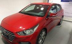 Hyundai Accent 2019 Hatchback Rojo   -9