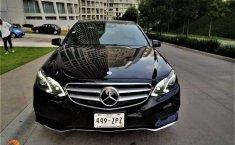 Mercedes-Benz E500 2014 Negro 4 PTS, E500, CGI, BITURBO, TA. GPS-0