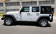 Jeep Wrangler 2018 Blanco brillante UNLIMITED SPORT JK, TA, CD, R16, 4X4 , 4 pts, -2