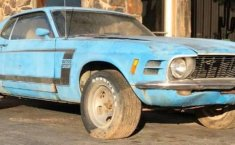 Ford Mustang azul-0