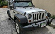 Jeep Wrangler Unlimited Sport 2012 3er. dueño RINES 18 originales LLANTAS SEMINUEVAS 4x4 IMPECABLE!!-0