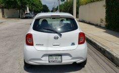 Nissan March sense 2015 std con clima bolsas de aire llantas nuevas controles al volante 1 dueño local-4
