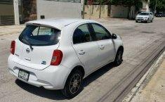 Nissan March sense 2015 std con clima bolsas de aire llantas nuevas controles al volante 1 dueño local-2