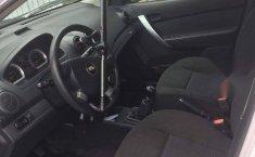 CHEVROLET AVEO blanco 4 puertas L4/1.6 R15-2