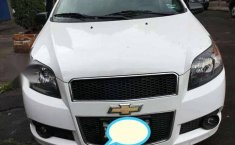 CHEVROLET AVEO blanco 4 puertas L4/1.6 R15-0